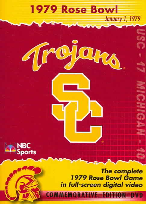 1979 ROSE BOWL:USC VS MICHIGAN (DVD)