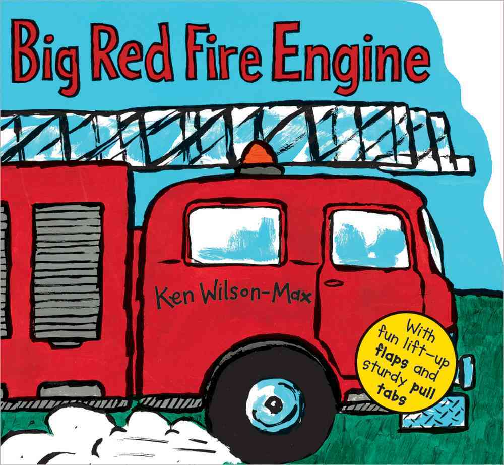 Big Red Fire Engine By Wilson-Max, Ken